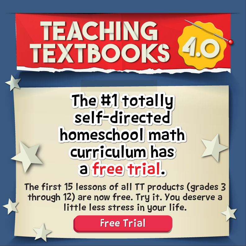 Teaching Textbooks 4.0 free trial