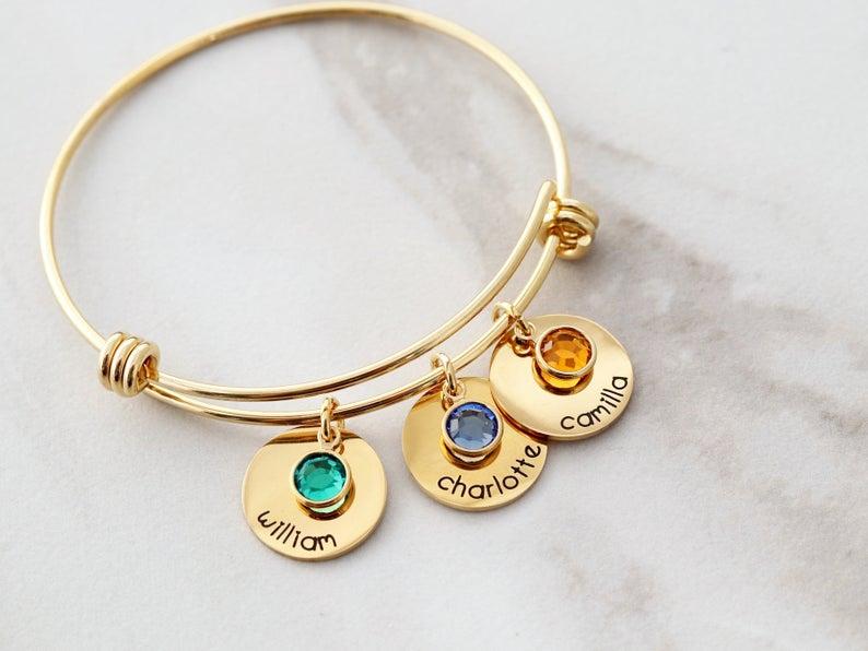 birthstone bracelet by TomDesign