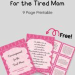 Free Encouragement for The Tired Mom