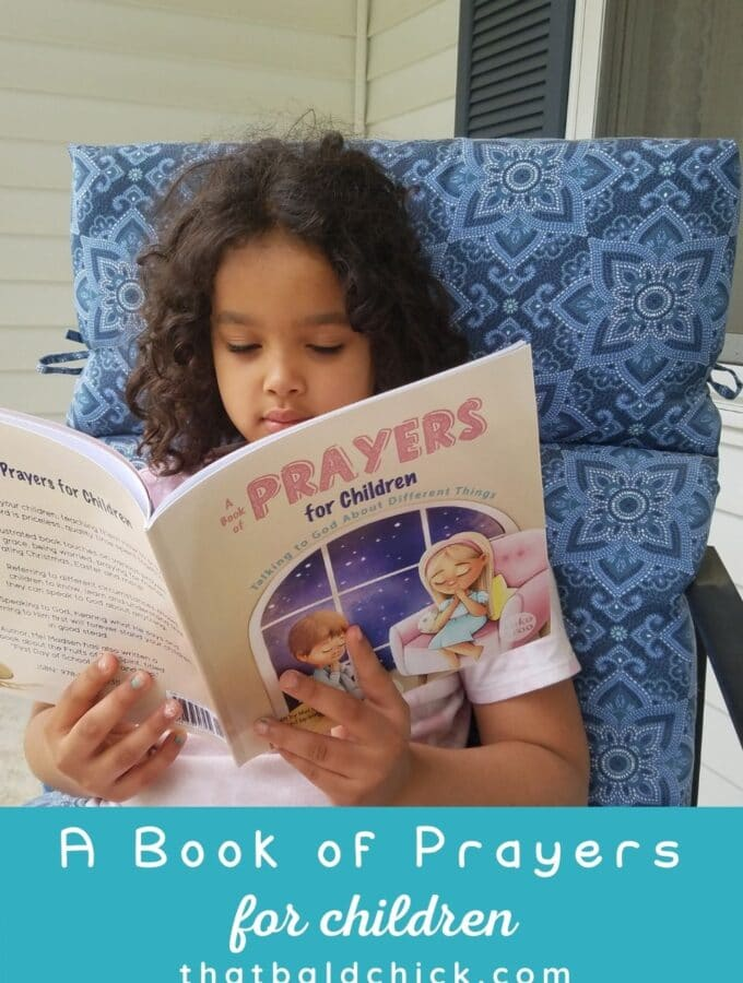 A book of Prayers for Children