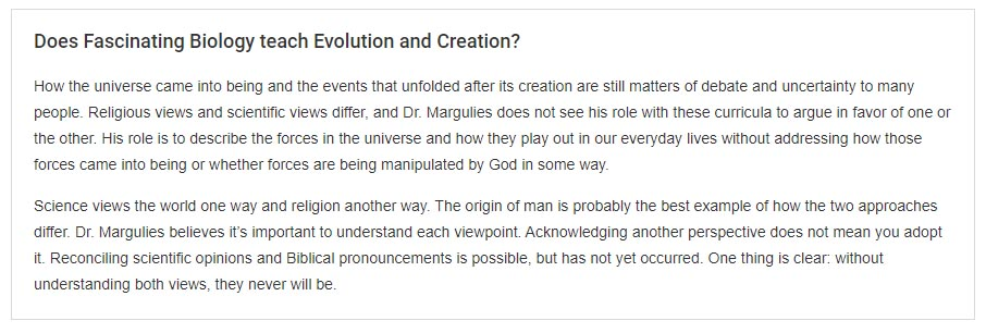 Fascinating Biology Evolution and Creation
