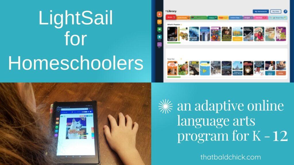 an adaptive online language arts program