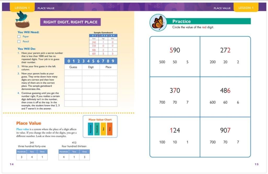 Apologia Math Skills Practice