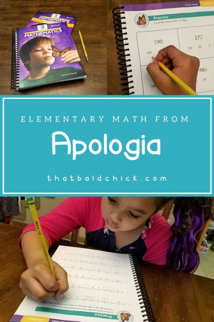 Elementary Math from Apologia