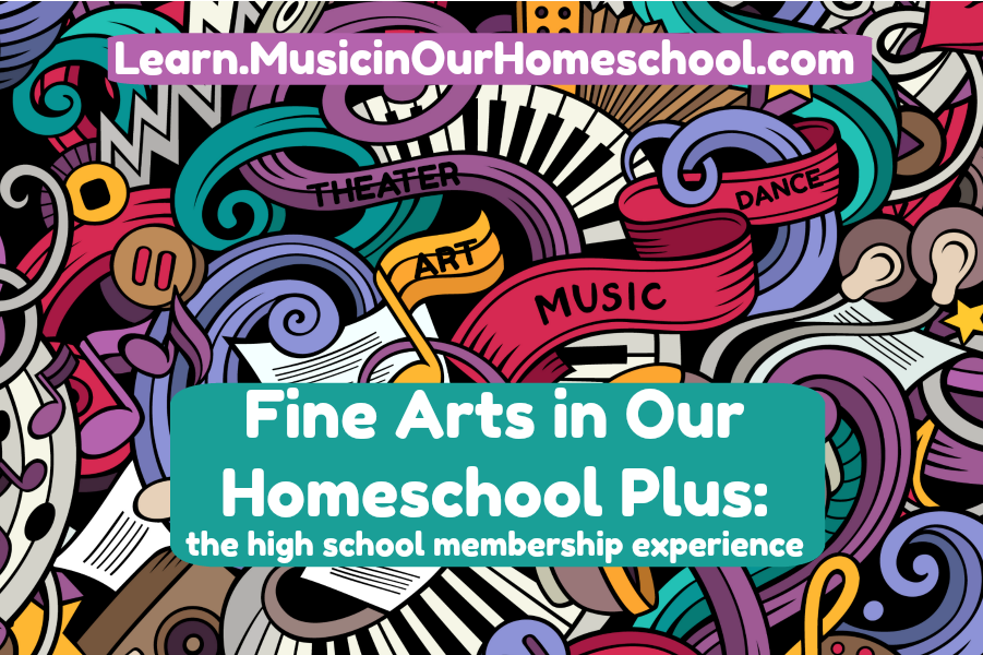 Homeschool High School Fine Arts Membership