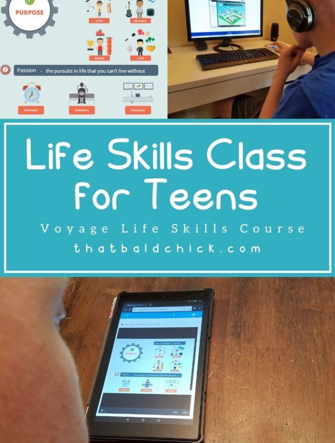 Life Skills Class for teens