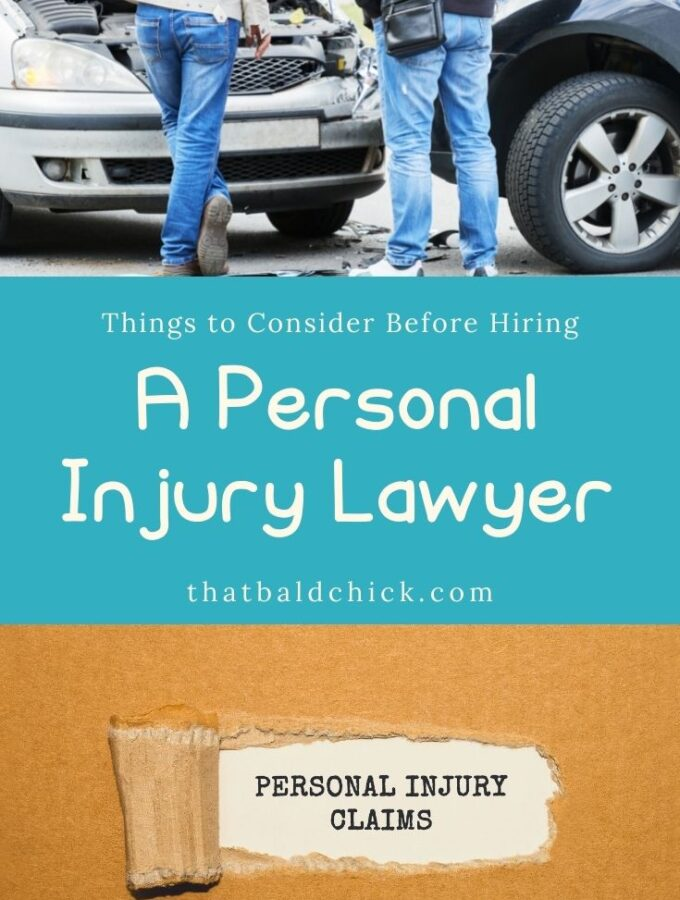 Things to Consider Before Hiring A Personal Injury Lawyer
