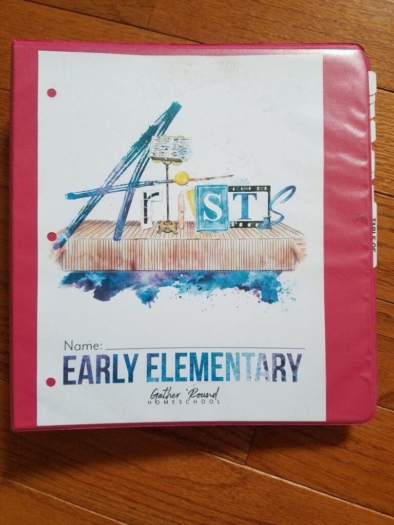 Early Elementary Student Notebook for Gather Round